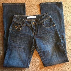 Tin Haul Women's Lowrise Bootcut Jeans
